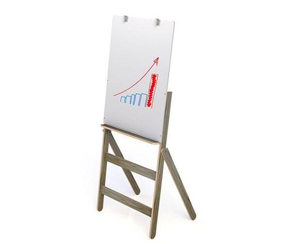 Flip Chart Com Quadro Branco 90x54cm